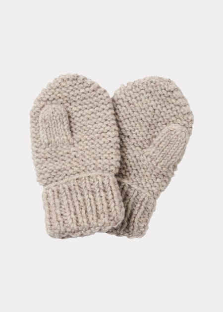 Kids Caramel Arche Baby Mittons - Taupe