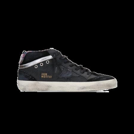 Golden Goose Mid Star Spur Men GMF00123.F002067.90283 sneakers - Cocco Print/black