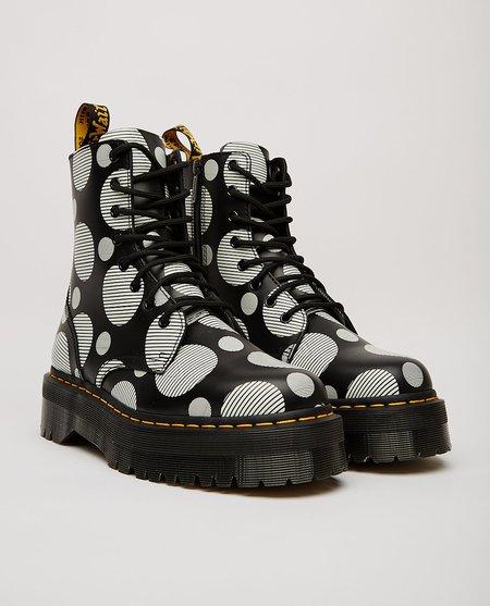Dr. Martens Jadon Polka Dot Smooth Platform Boots