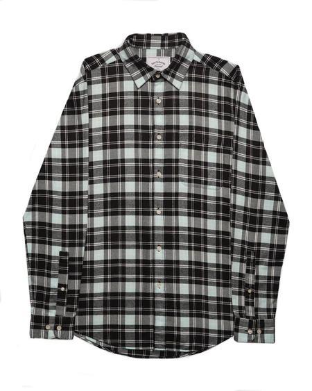 Portuguese Flannel Iggy Shirt - Black
