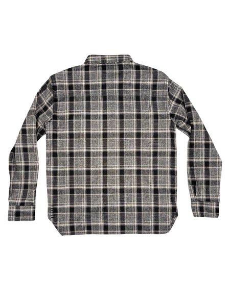 Machus Light Flannel Shirt - Multi Black