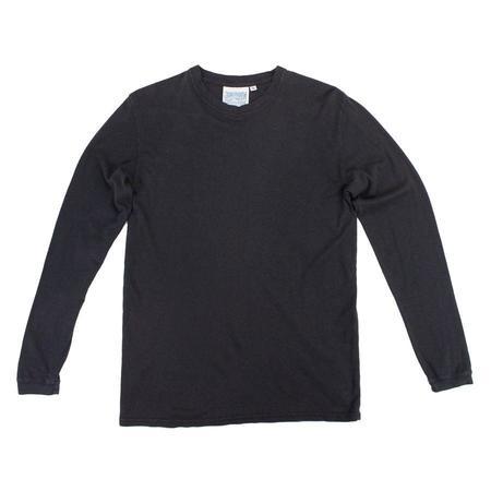 Unisex Jungmaven Long Sleeve Jung Tee - Black