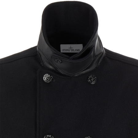 Stone Island Panno Speciale Men MO751543609-V0029 Coat - Black