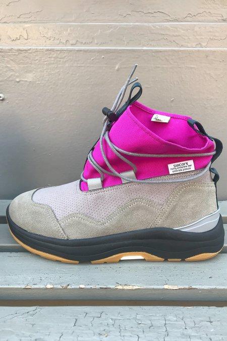 Suicoke Robbs-Ab Boot - Purple x Gray