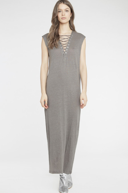 IRO DAISY DRESS - GREY