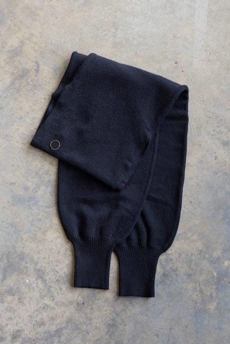 UNISEX Oyuna centia cashmere shawl - black