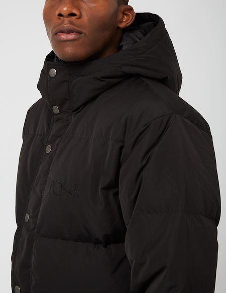 Polar Skate Co. Hood Puffer Jacket - Black