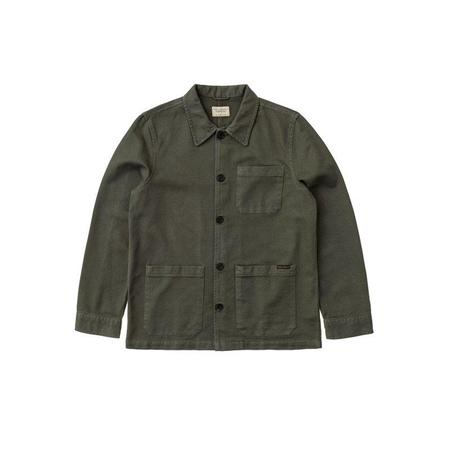 Nudie Jeans Barney Worker Jacket - Olive