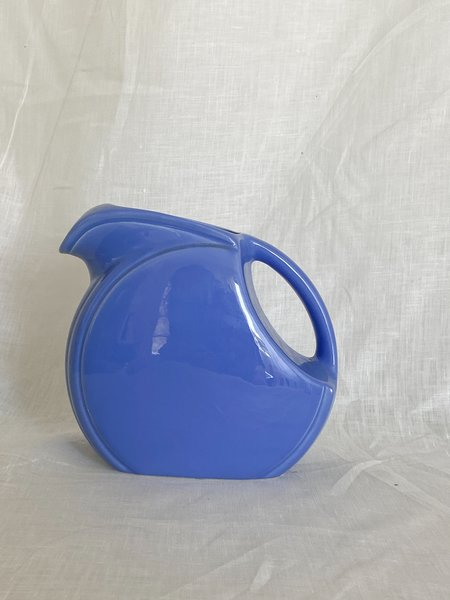 Vintage Rounded Pitcher - Periwinkle Blue
