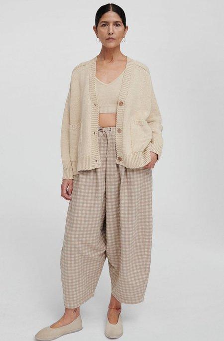 Monica Cordera Checkered Maxi Pants - Nomad