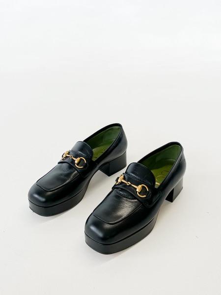 Melissa Gucci Houdan 15 Platform Loafer -Black