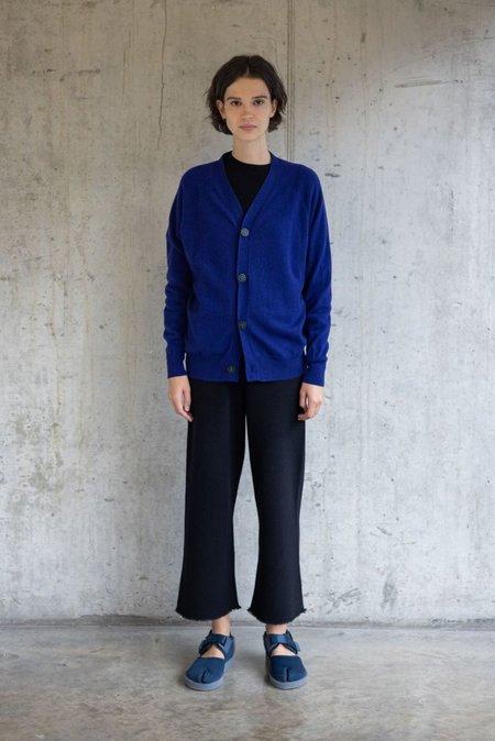 Unisex Oyuna Capua Cardigan - Deep Blue