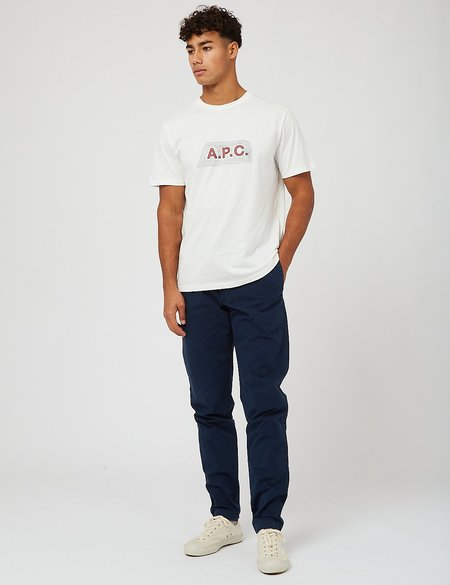 A.P.C New Kaplan Trousers - Navy Blue