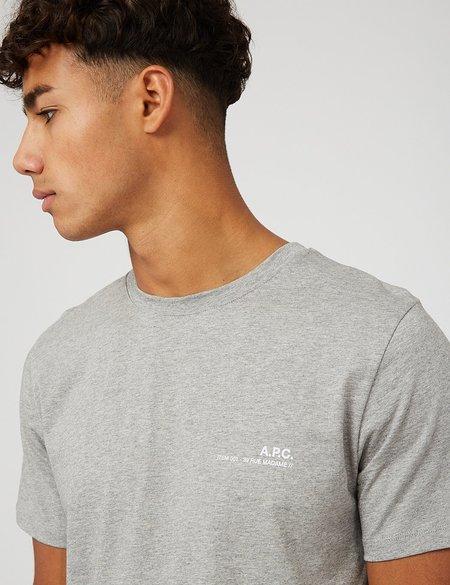 A.P.C. Item T-Shirt - Grey