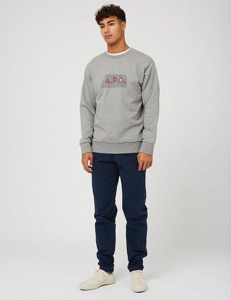 A.P.C. James Sweatshirt - Grey