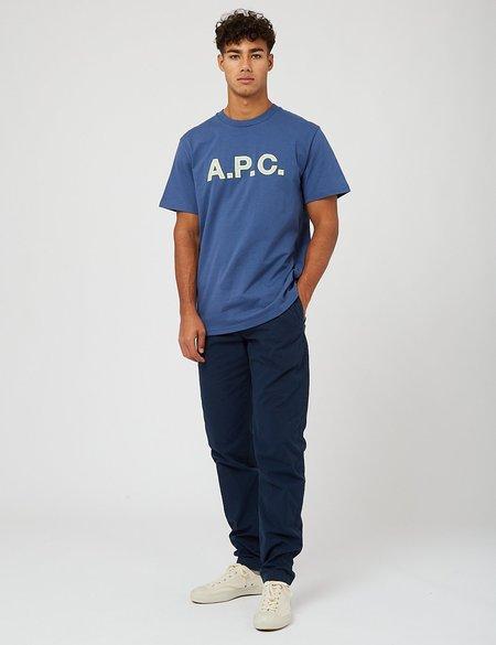 A.P.C. Romain T-Shirt - Navy Blue
