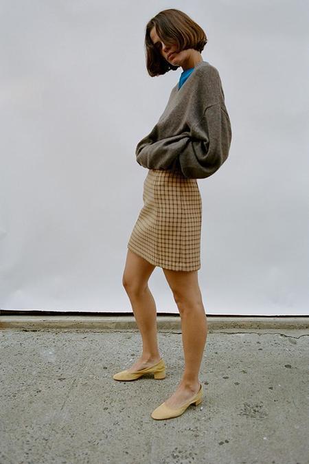 Maryam Nassir Zadeh Torres Skirt - Kenmare