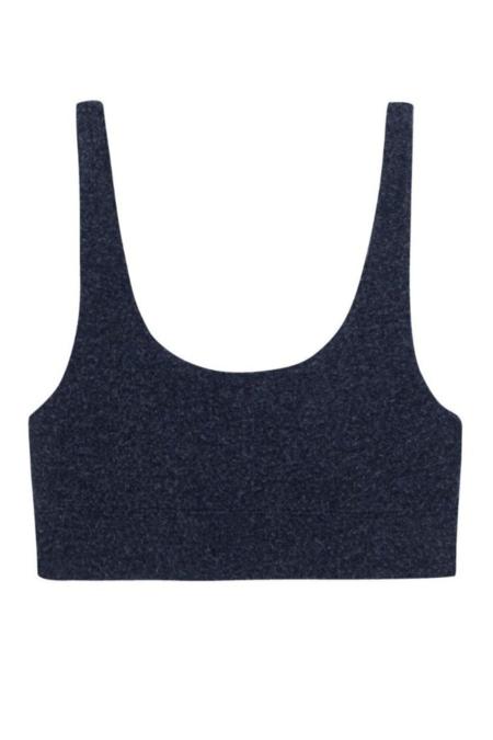 Donni. Sweater Bra Top - Navy
