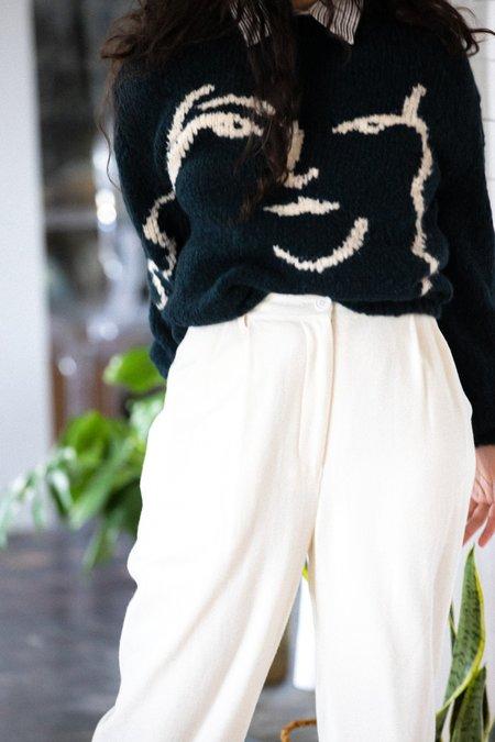 Unisex Paloma Wool Anita Sweater - Dark Green