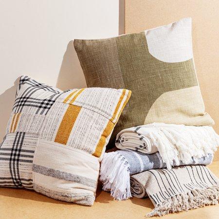 Poketo Patchwork Pillow - Multi