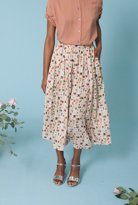 Plante Rose Skirt - Printed