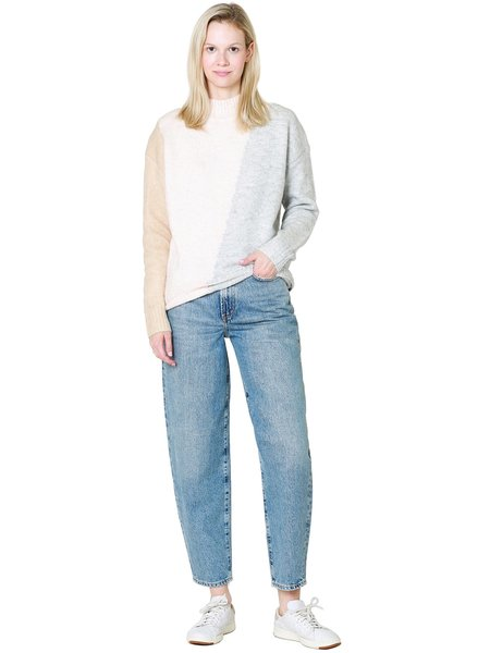AGOLDE Balloon Jean Ultra High Rise Curved Taper Jean - Zone