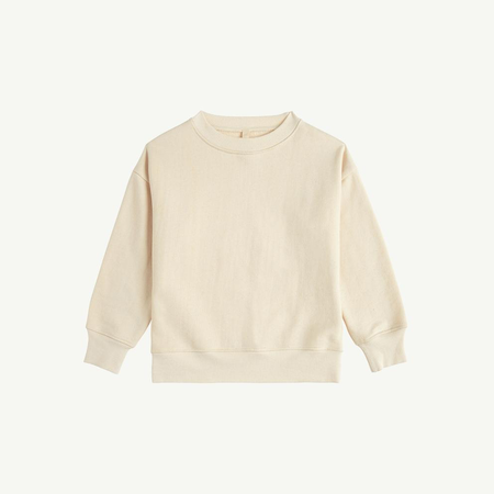 kids unisex Summer & Storm Baby Crewneck Sweatshirt - natural
