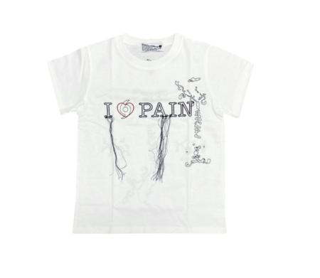 604service Pain T Shirt - White
