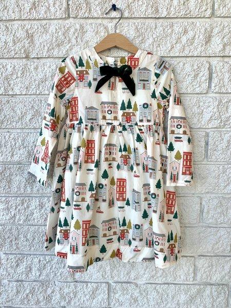 Kids Pink Chicken MARGARET DRESS