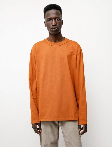 Camiel Fortgens LS Big Tee - Heavy Orange