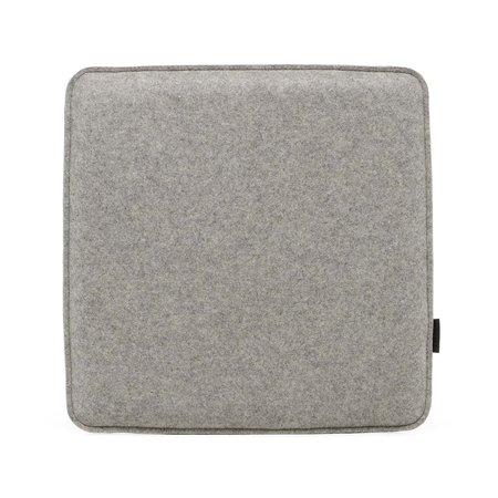 Graf Lantz Zabuton Square Felt Seat Pad - Granite