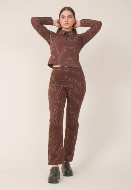 Paloma Wool Fuji Shirt - Brown