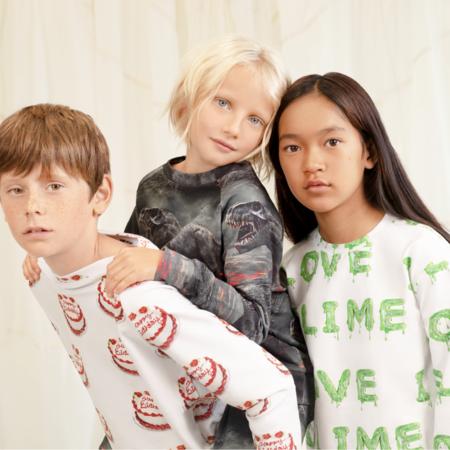 kids unisex Romey Loves Lulu I Love Slime Sweatshirt - green
