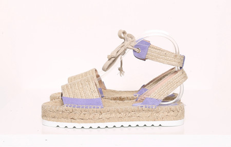 Intentionally Blank SUN Espadrille Lilac