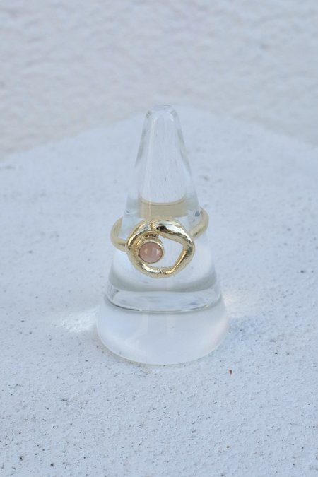 Mercurial Oracle Ring - Gold