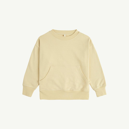 Kid's Summer & Storm Crewneck Pocket Sweatshirt