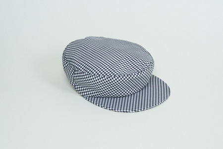 Clyde Acton Hat in Gingham Screen