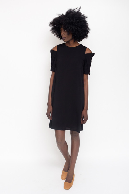Toit Volant Marianne Dress / Black