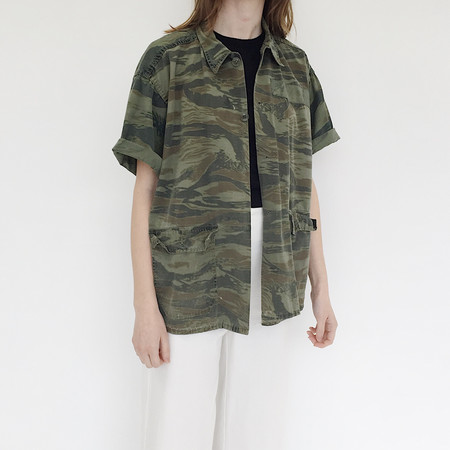 Johan Vintage Camouflage Shirt