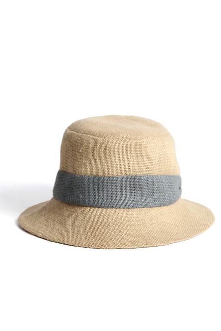 Tsuyumi Jute Small Brim Banded Hat