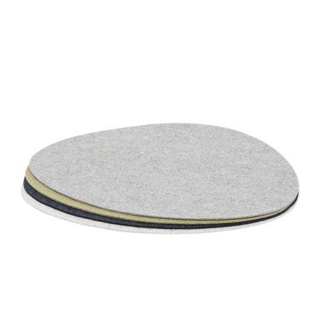 Graf Lantz Stone Placemat Felt - 4 Pack