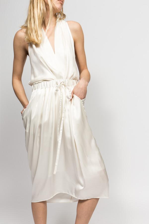 Angélique Chmielewski Angelique Chmielewski Drape Skirt Silk