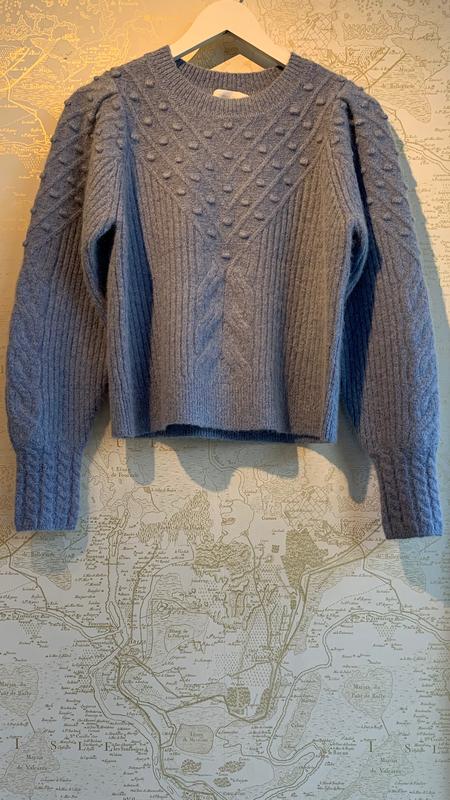 Jonathan Simkhai Stella Boucle Sweater - Gray