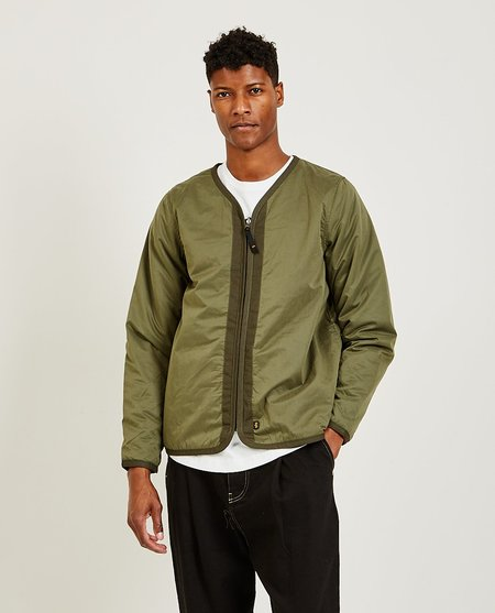 ALPHA INDUSTRIES Quilted Jacket - Dark Green