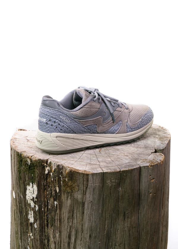 "Saucony GRID 8000 ""Dirty Snow II""  (Grey)"
