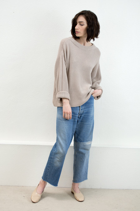 Micaela Greg Oat Seed Sweater
