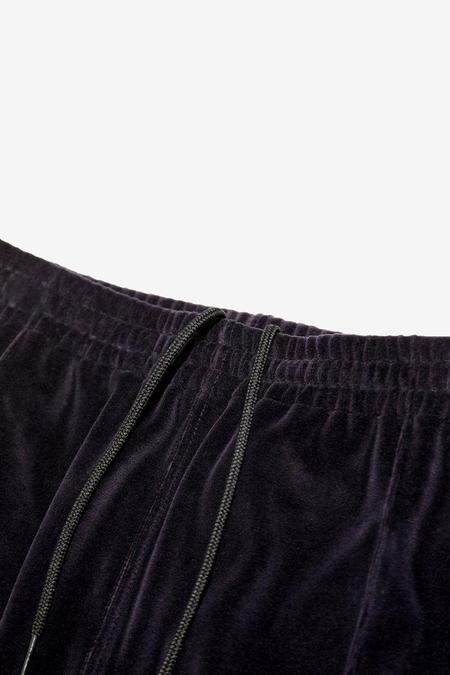 Needles Narrow Velour Track Pants - Eggplant