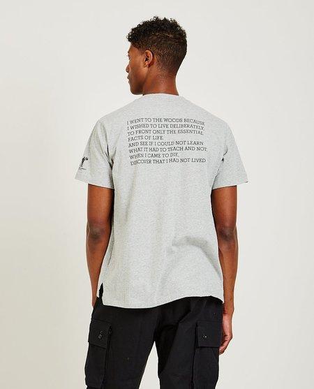 Engineered Garments Before Dawn Tee - Grey
