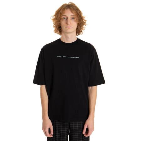 OFF-WHITE Men Marker Skate T-shirt - Black
