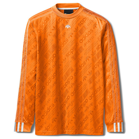 ADIDAS ORIGINALS BY ALEXANDER WANG SOCCER LS - SUPER ORANGE